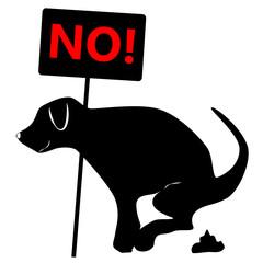 no dog dung board