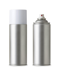 Paint spray can, Metal Spray Bottle, Realistic photo image