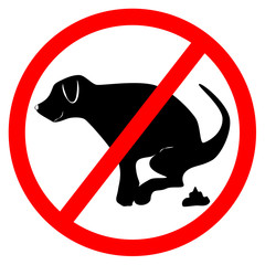 no dog dung board