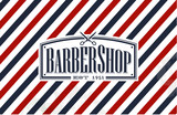 Fototapety Vintage, Old Fashion styled Barber Shop