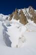 Mer de glace e pareti di granito