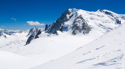 Monte bianco, traversata mer de Glace