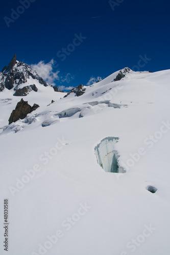 Mer de glace, crepaccio