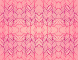 Rose abstract seamless pattern