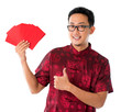 Thumb up Asian Chinese man