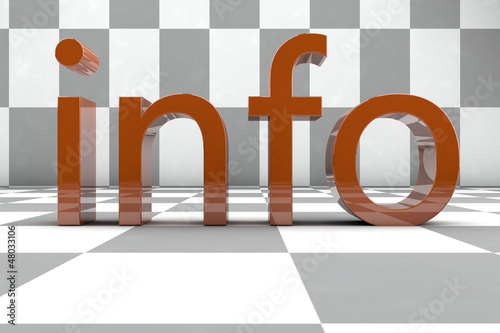 info - 3D rendering