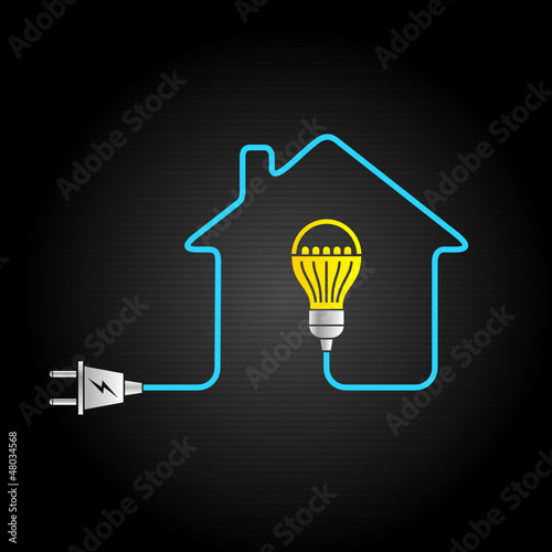 electricity logo with led 2012_12