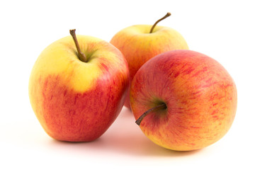 Drei schöne Äpfel