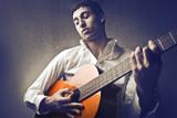 Fototapety Mulatto Guitarrist