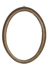 Antiker Bilderrahmen Oval Freigestellt