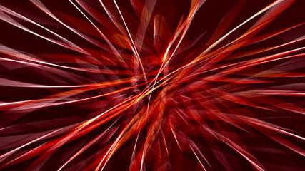 Lichtstreifen - rot
