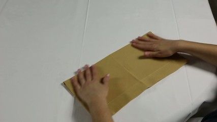 Bischofsmütze mit einer Serviette falten