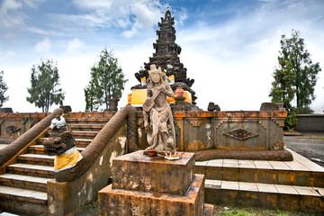 Hindu temple near Mt. Bromo, East Java Indonesia