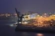Leinwanddruck Bild - Container, Export, Import, Terminal, Hamburger Hafen, Hamburg