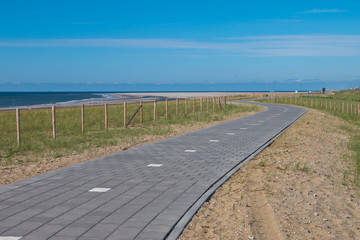 Paved Cycling Track  in Dunes