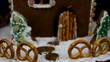 Home made gingerbread house