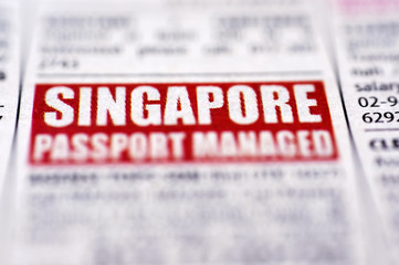 Job Vacant in Singapore