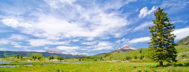 Beaver Lagoon in the San Juan Mountains of Colorado