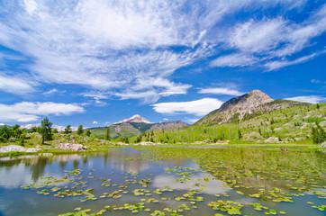 Beaver Lagoon in the San Juan Mountains