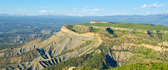 Lookout Point at Mesa Verde National Park, Colorado