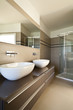 modern architecture, interior bathroom