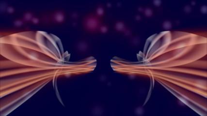 Background - Animation - Lichtstreifen