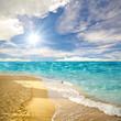 Karibischer Traumstrand