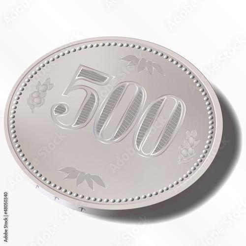 500円 五百円 コイン 硬貨