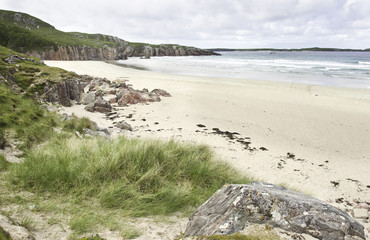 küste in durness - schottland