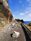 Rock Fall on the Road, Hierro, Canary Islands