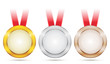 Vector Achievement Medals