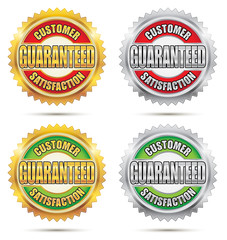 Customer Satisfaction Guaranteed Seal
