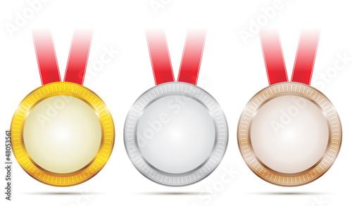 Vector Achievement Medals