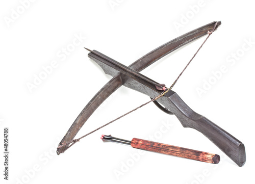 Ancient  crossbow..