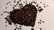 Coffee heart.