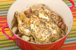 Dutch Oven Roasted Chicken with Herbs