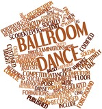 Word cloud for Ballroom dance