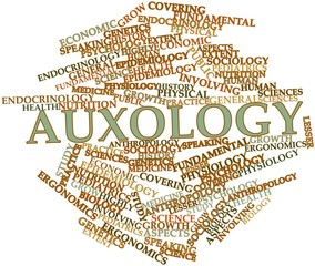 Word cloud for Auxology