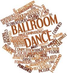Word cloud for Ballroom dance