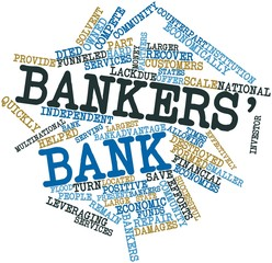 Word cloud for Bankers' bank