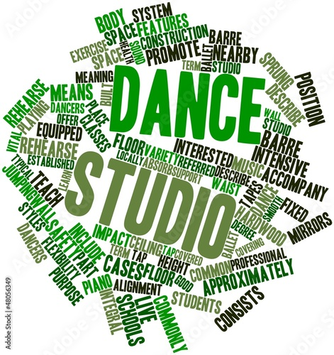 Word cloud for Dance studio