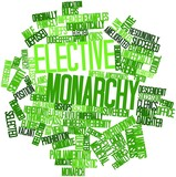 Word cloud for Elective monarchy poster