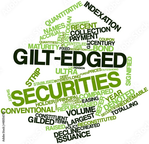 Word cloud for Gilt-edged securities