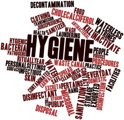 Word cloud for Hygiene
