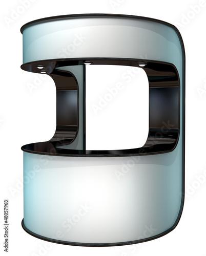 white plastic kiosk
