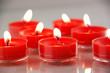 canvas print picture - Kerzenlichter