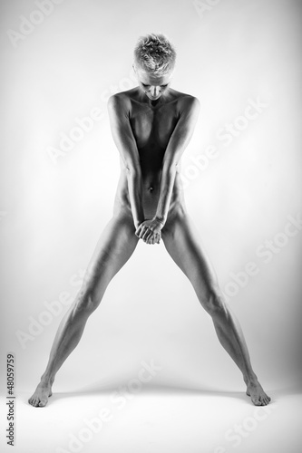 Fine art image of female body