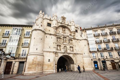 Arch of Santa Maria, Burgos, Castilla y Leon, Spain