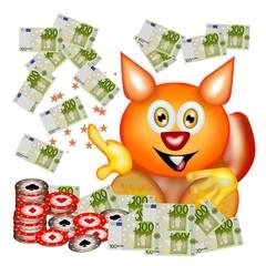scoiattolo money bis