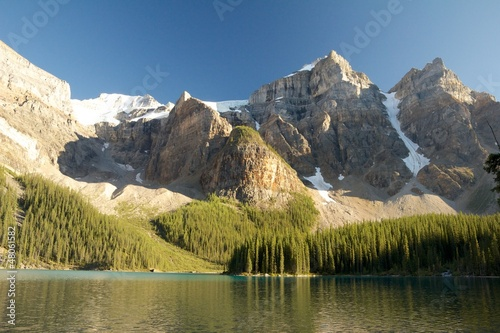 Mountains over Moraine Lake